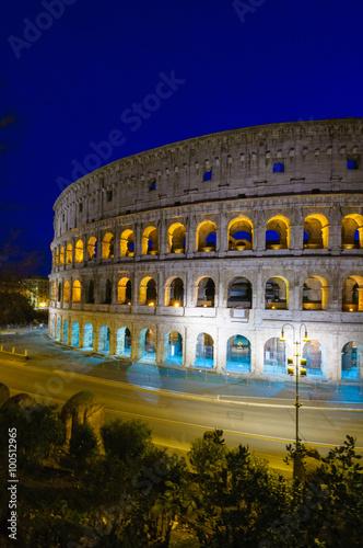 In de dag Rome Roma Colosseo