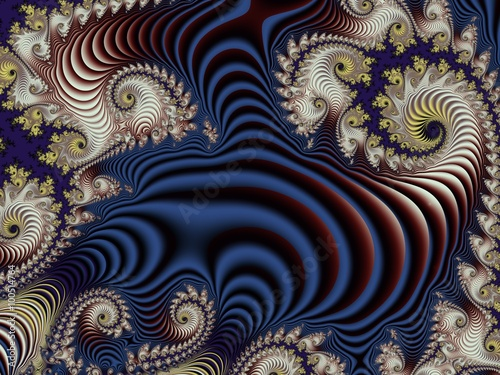 Keuken foto achterwand Fractal waves Fabulous background with Spiral Pattern. You can use it for invi