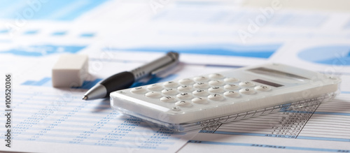 Fotomural Accounting concept