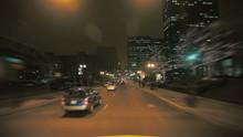 People Walking At Night In Chi...