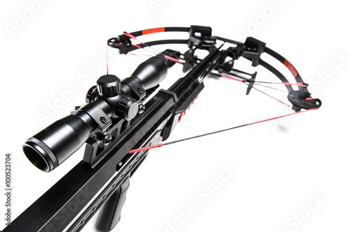 Photo Crossbow isolated