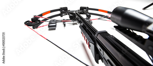 Canvas Print Crossbow isolated