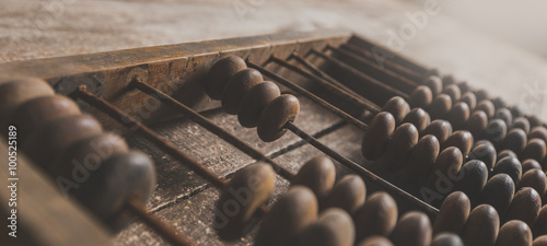 Photo Vintage abacus