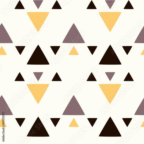 abstrakcjonistyczna-bezszwowa-wektoru-wzoru-tla-ilustracja-z-trojbokami