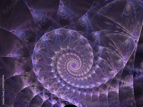 Recess Fitting Spiral Abstract wallpaper. Abstract fractal. Fractal art background for creative design. Decoration for wallpaper desktop, poster, cover booklet. Abstract texture. Psychedelic. Print for clothes, t-shirt.