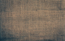 Hessian Texture Background Vintage Tone Color