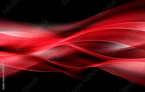 Nowożytnego tła Abstrakcjonistyczna Czerwona fala projekt