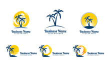 Sun, Palm, Landscape, Travel, ...