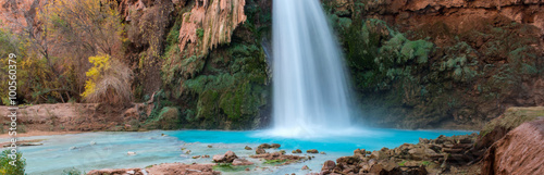 Foto op Plexiglas Cappuccino Havasu Falls, Arizona