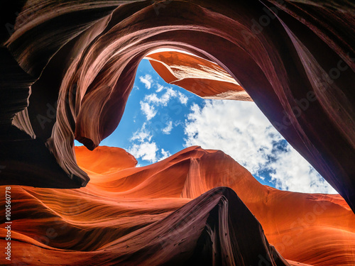 fototapeta na szkło Antelope Canyon, Arizona, USA