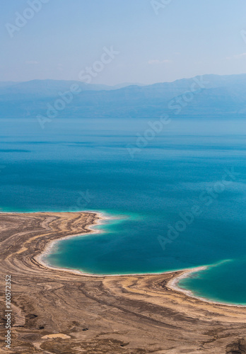 Canvas Prints Blue Landscape Dead Sea