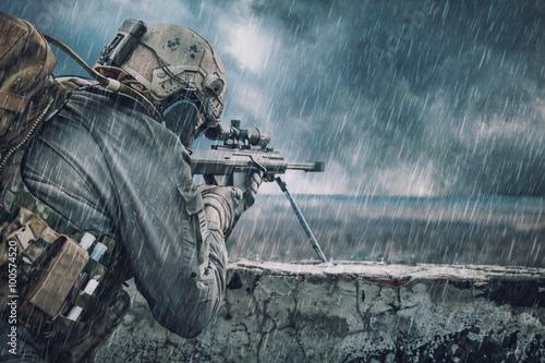 Cuadros en Lienzo Francotirador del ejército de EE.UU.