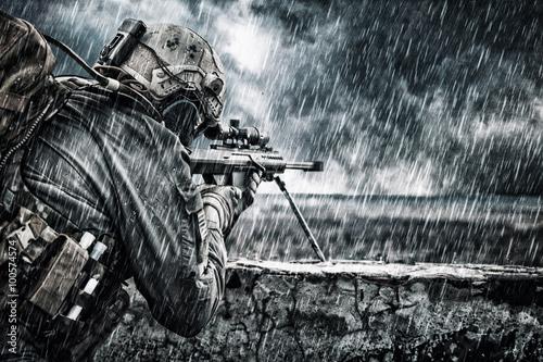 Fotomural Francotirador del ejército de EE.UU.
