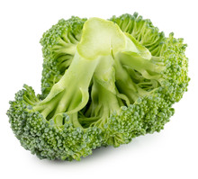 Broccoli Isolated On The White Background