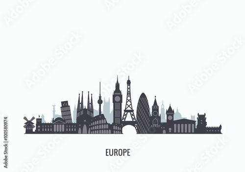 sylwetka-panorame-europy