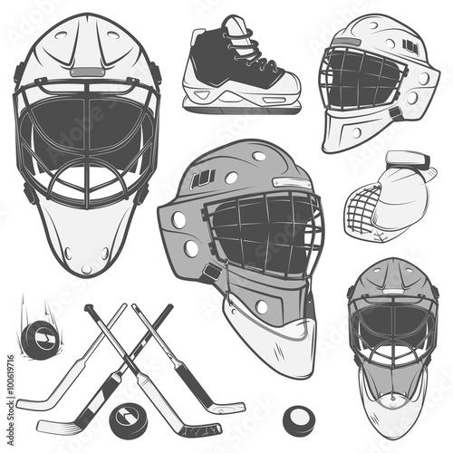 Cuadros en Lienzo set hockey