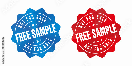 vector free sample not for sale badge buy this stock vector and