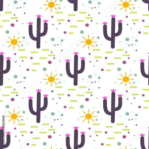 purpurowy-i-bialy-kaktus-pustynia-wzor-kaktusy-i-slonce-plemiennych-boho-tle-projekt-nadruku-na-tkaninie-soczysta-powierzchnia