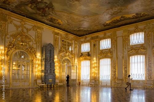 Fotografía  Interior of Catherine palace