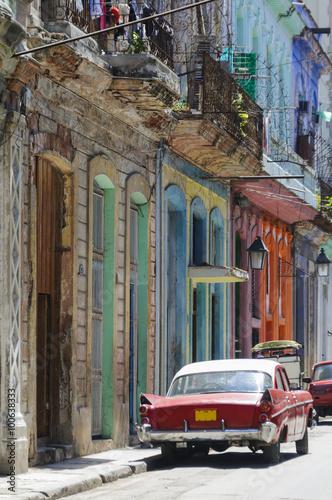 Deurstickers Havana Havanna, Kuba