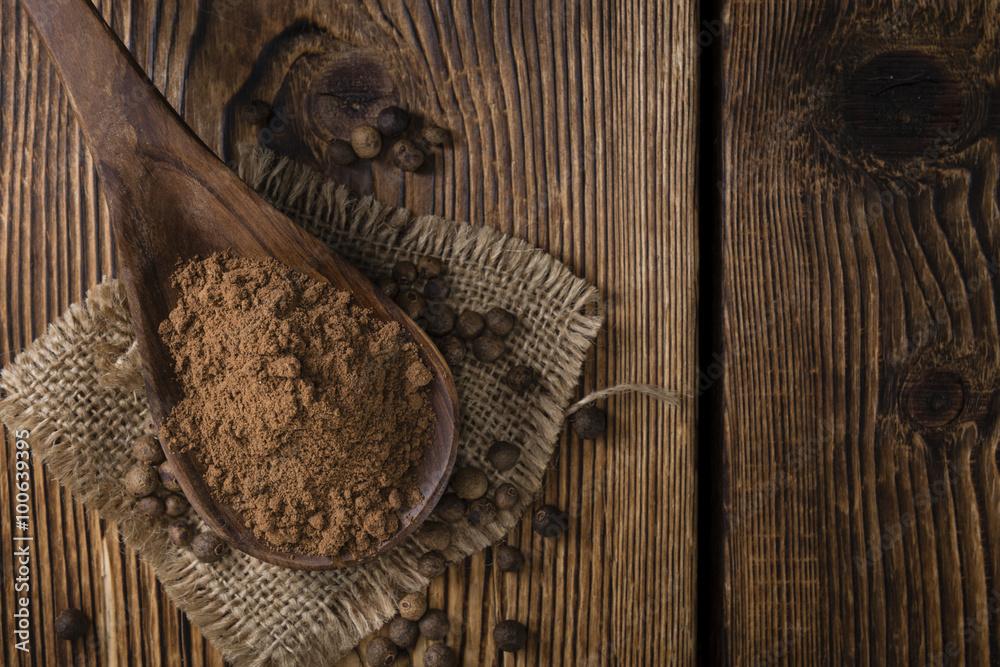 Fototapety, obrazy: Allspice Powder