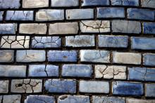 Blue Cobblestones In Old San J...