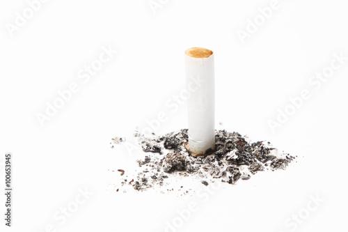 Fotografie, Obraz  Last Cigarette