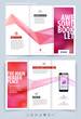 Business brochure and cover design layout template. Vector illus