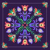 wzór ludowy z Podhala - inspiracja - 100675746
