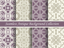 Antique Seamless Background Co...