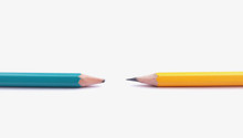 Sharpening Pencil And Unsharpening Pencil