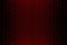Red And Black Leather Background Texture.