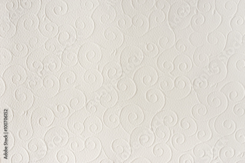 Old white, beige paper sheet texture background Canvas-taulu