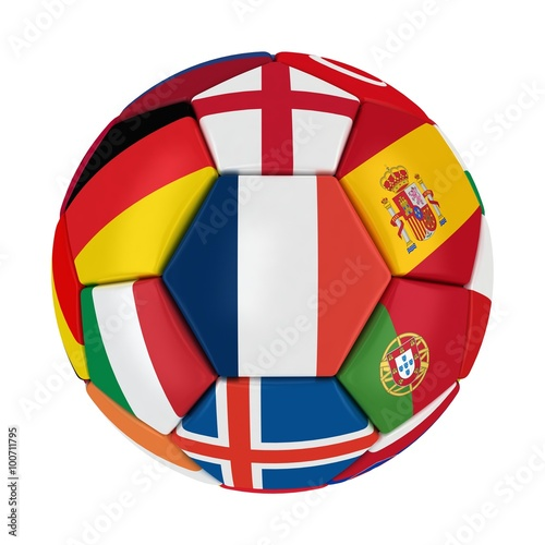 Photo  EURO 2016 France Ball