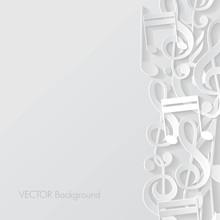 Music Background. Vector Illustration