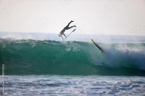 Foto  Surfen mit SUP