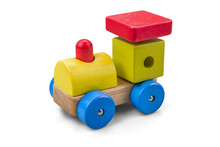 Wooden Car - Truck Toy With Co...