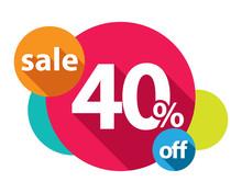40% Discount Logo Colorful Cir...