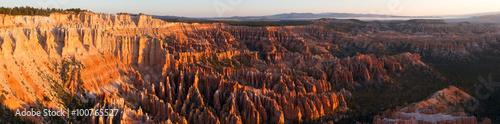 Fotografie, Obraz  Panorama of the Bryce Canyon Ampitheater at Sunrise