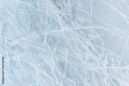 Obraz Ice texture on a skating rink - fototapety do salonu