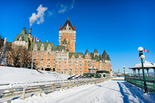 Winter In Quebec City Canada