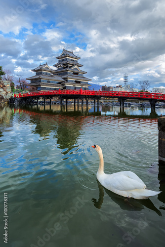 Foto op Plexiglas Japan Matsumoto Castle