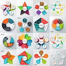 Big Set Of Vector Elements For Infographic.