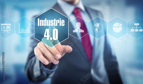 Fotografie, Obraz  Industrie 4.0