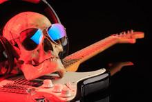 Still Life With Skull And Elec...