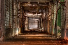 Dilapidated Workshop Of The Ab...