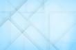 Leinwanddruck Bild - Abstract glass blue background
