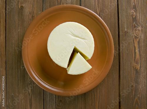 Foto op Plexiglas Basket cheese