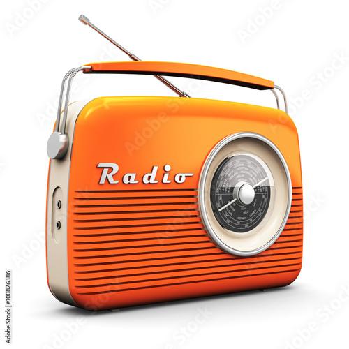 Cuadros en Lienzo Vintage radio