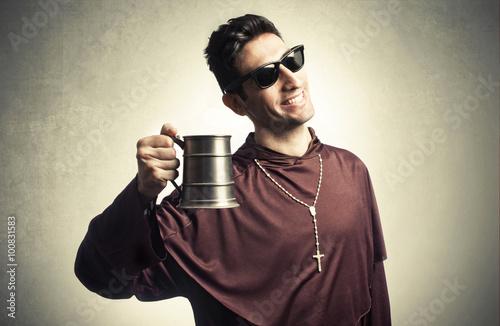 Fototapeta funny friar